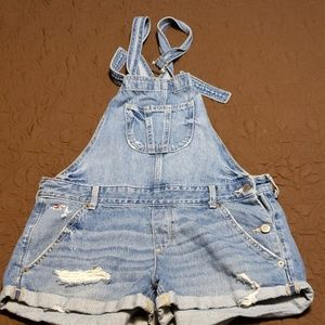 Hollister denim overall